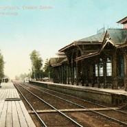 Выставка «150 лет Балтийской железной дороге» фотографии