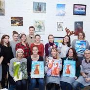 Новогодние мастер-классы иэкспресс-курсы поживописи фотографии
