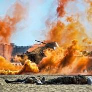 Военно-морской фестиваль для всей семьи на пляже Финского залива 2017 фотографии