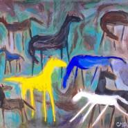 Выставка «Звёздный дождь над Калахари» фотографии