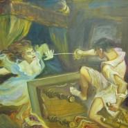 Выставка «Схватка Д'Артаньяна и Миледи» фотографии