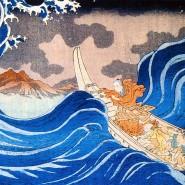 Выставка «Японская графика. Картины ускользающего мира» фотографии