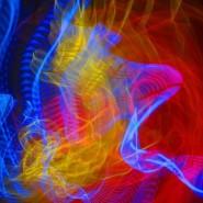 Выставка «В поисках света. Магия люминографии» фотографии