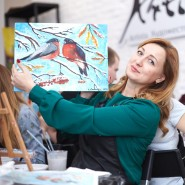 Мастер-классы «Картина за 3 часа» в Санкт-Петербурге фотографии