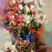 Выставка живописи Ивана Славинского «Ω TEST» фотографии