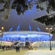 Фестиваль света у стадиона «Санкт-Петербург Арена» 2017 фотографии