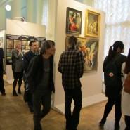 Выставка «От мастерской к кафедре реставрации живописи» фотографии