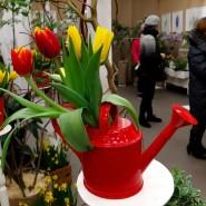 Весенняя выставка тюльпанов 2020 фотографии