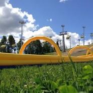 Летние развлечения в «Охта парке» фотографии