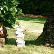 «Библиотека под открытым небом» на Елагином острове фотографии