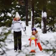 Открытие лесного катка на курорте «Охта Парк» 2020 фотографии