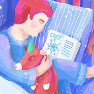 Детский спектакль «Снег» фотографии