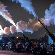 Реконструкция «Ленинградский салют» на Марсовом поле-2019 фотографии