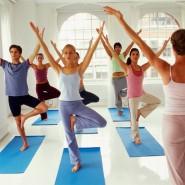 Мастер-класс по йоге  фотографии