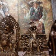 Выставка «Декоративно-прикладное искусство Непала и Тибета» фотографии