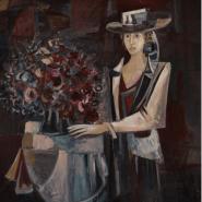 Выставка «Цветы и женщины» фотографии