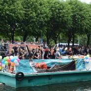 Речной карнавал в Санкт-Петербурге 2018 фотографии
