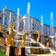 Пуск фонтанов в музее-заповеднике «Петергоф» 2020 фотографии