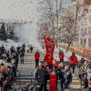Церемония запуска часов обратного отсчета до Чемпионата мира по футболу FIFA 2018 фотографии