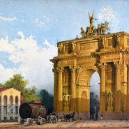 Выставка «Старый Петербург. Столица и окрестности» фотографии