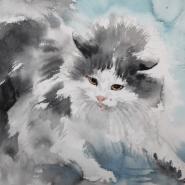 Выставка «Портрет кошки» 2018 фотографии