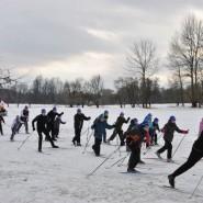 Массовая лыжная гонка «Пушкинская лыжня — 2019» фотографии
