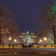 Площадь писателя Островского фотографии