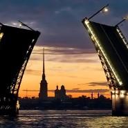 Развод мостов в Санкт-Петербурге 2019 фотографии