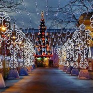 Большая Рождественская ярмарка на Пионерской площади 2018 фотографии