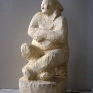Выставка  «Кира Суворова. Скульптура, графика» фотографии