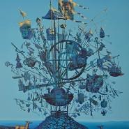 Выставка  «Страна синего неба» фотографии
