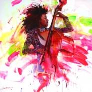 Выставка «Мелодия красок» фотографии