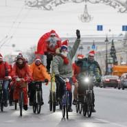 Велопарад Дедов Морозов и Снегурочек 2017 фотографии