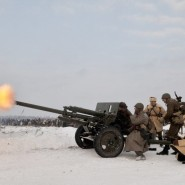 Военно-исторический фестиваль «В полосе  прорыва» 2017 фотографии