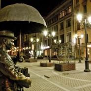 Мини спектакли о войне в центре Петербурга 2017 фотографии