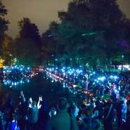 Осенний фестиваль водных фонариков фотографии