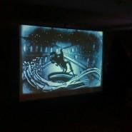 Песочное шоу Веры Лекомцевой —«Мистический Петербург» фотографии
