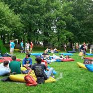 Фуд-маркет «Сбор Урожая» вПриморском Парке Победы 2020 фотографии
