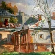Выставка «Две столицы: Петербург и Москва — музеи под открытым небом» фотографии