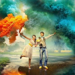 Фестиваль цветного дыма в Парке Сказок 30 июля