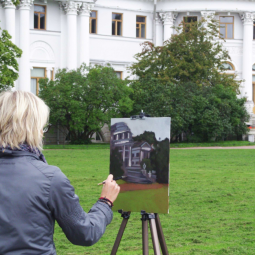 Выставка «Пленэр.  Исторические ландшафты России»