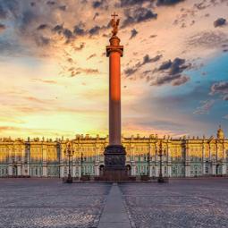 Открытие Фан-зоны на Дворцовой площади
