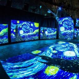 Выставка «Ван Гог  —  Живые полотна»