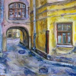 Выставка «Любимые дворы и уголки старого города»