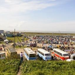 Фестиваль ретротехники «Фортуна» в Кронштадте 2019