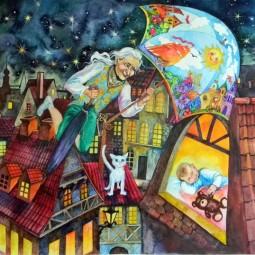 Спектакль для детей «Волшебные истории Оле-Лукойе»