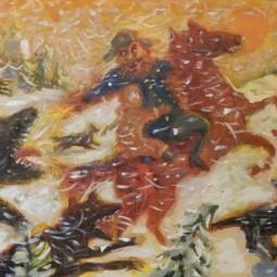 Выставка «Схватка Д'Артаньяна и Миледи»