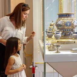 Экскурсии для детей в музее Фаберже