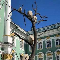 Выставка скульптуры «Идеи из камня — 1372 кг света»
