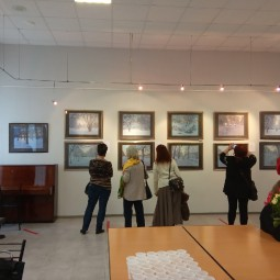 Выставка «Пейзаж в пастельных тонах»